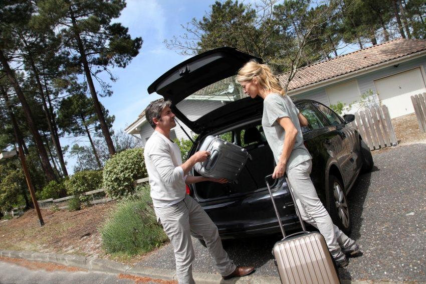 багаж в путешествие на машине