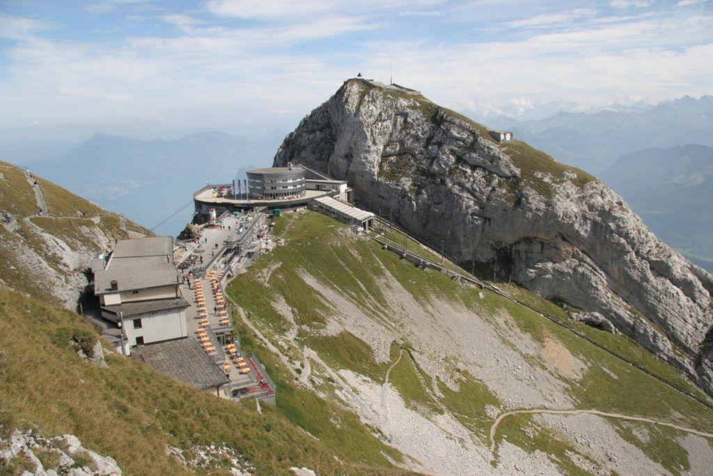 Гора Пилатус в Швейцарии