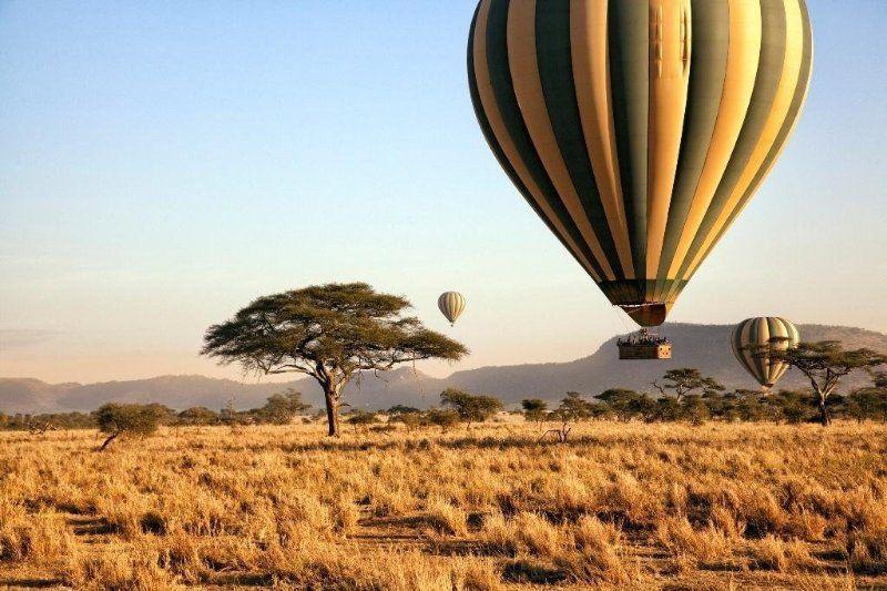 Сафари на воздушном шаре