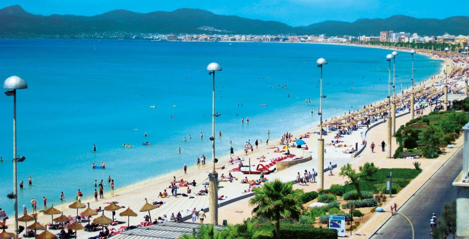 Майорка Плайя де Пальм пляж