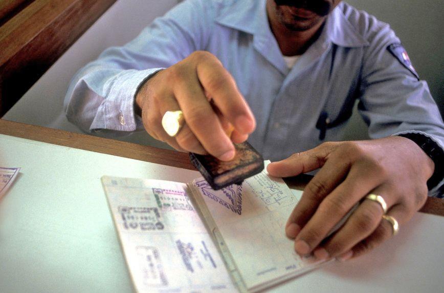 паспортный контроль виза