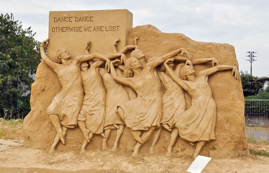 Бургас фестиваль песчаных скульптур