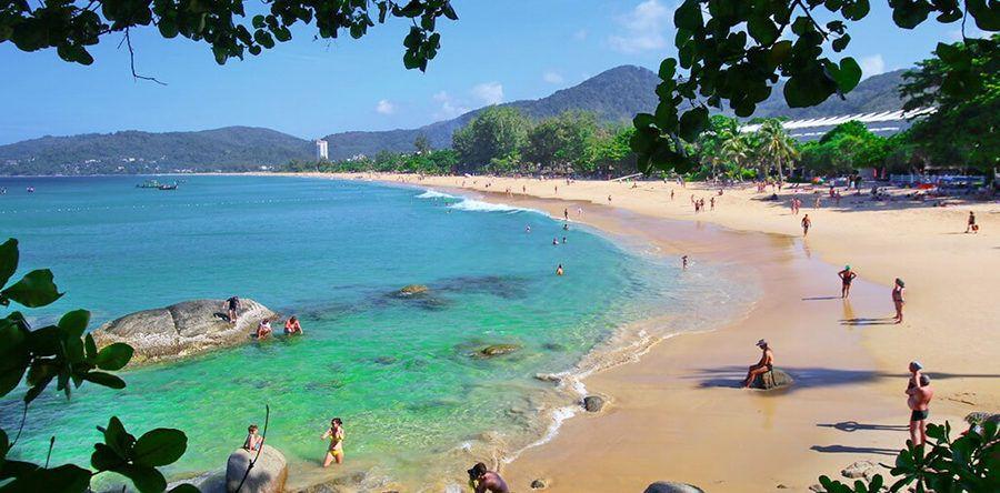 Пляж Карон на Пхукете – развлечения на любой вкус