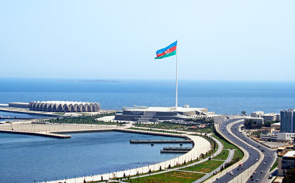 Площадь государственного флага Баку