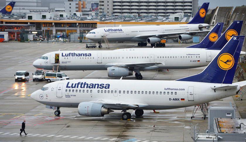 Lufthansa самолеты