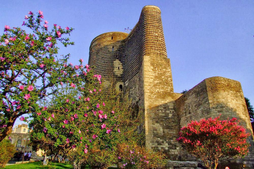 Баку Девичья башня