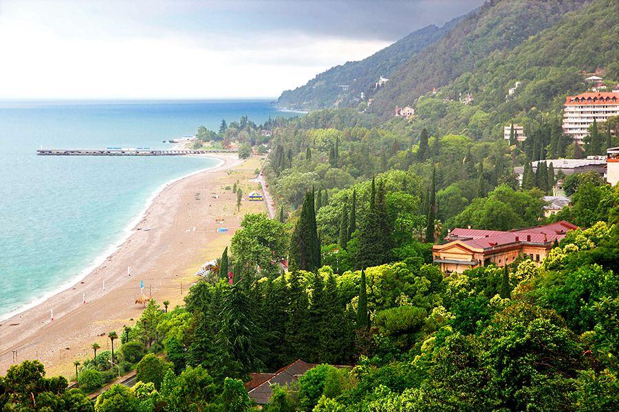 Пляж Абхазия