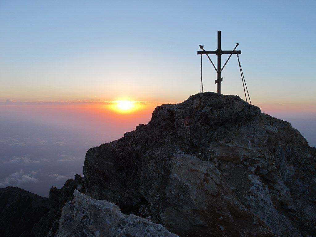 Фото вершины горы Афон