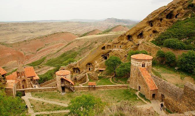 Фото Пещерные монастыри