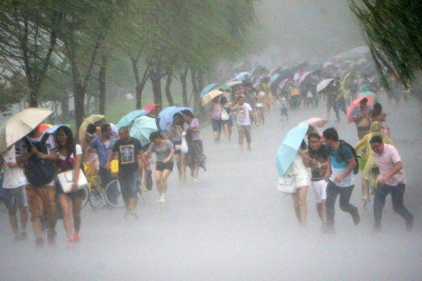 Дождь на Тайване