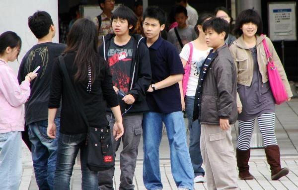 Молодежь Тайваня