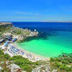 Пляж на Мальте
