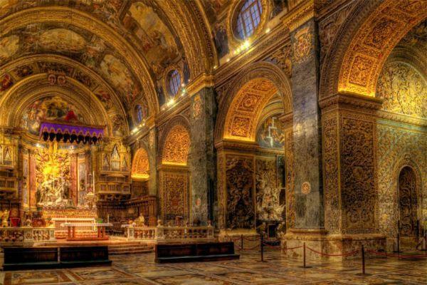 Собор Святого Иоанна внутри