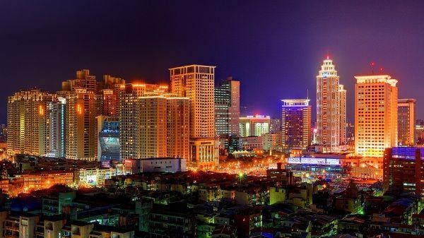 Тайбэй ночью