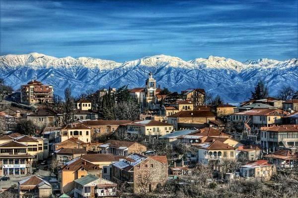 Достопримечательности многовековой истории грузинского города Телави
