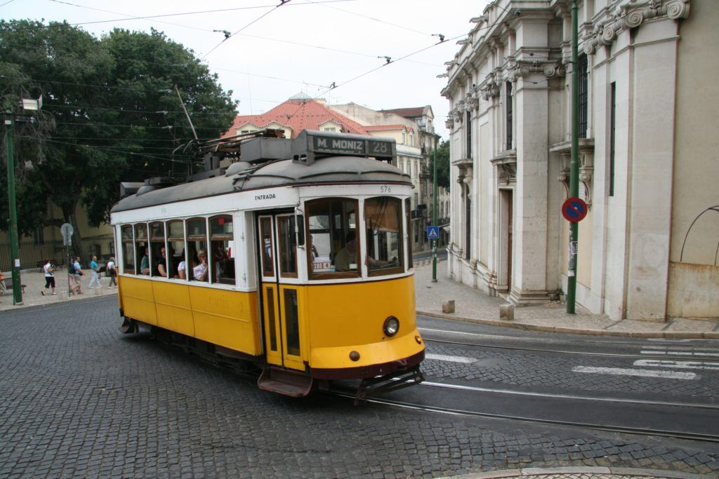Трамвай №28, Лиссабон