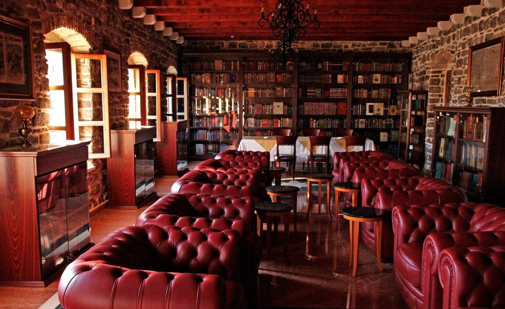 Музей -библиотека в Будве