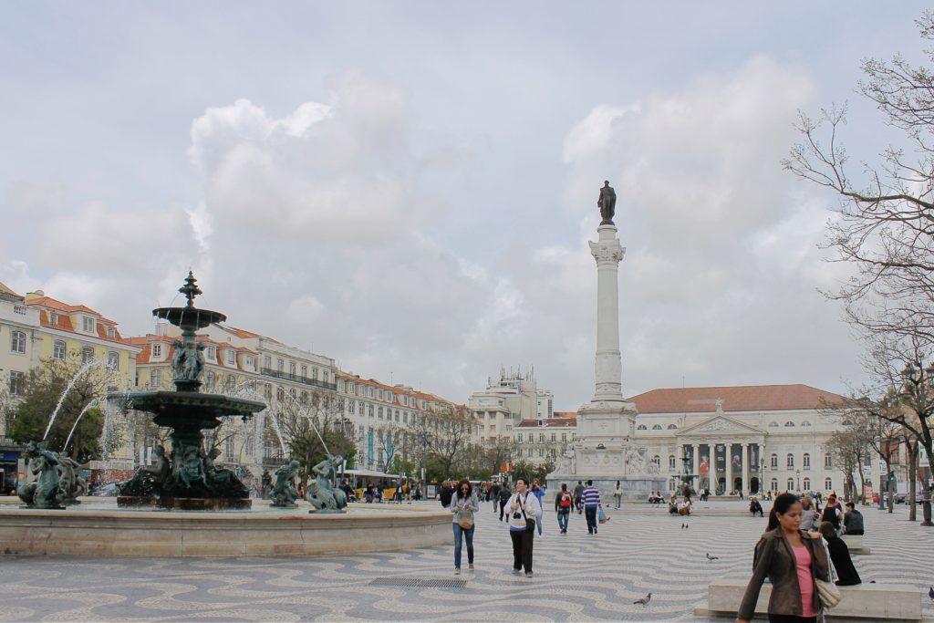 Площадь Россиу, Лиссабон