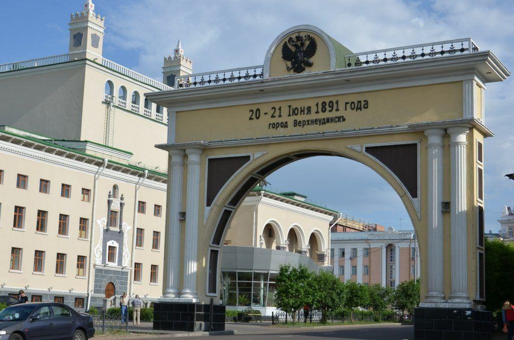 Царские ворота в Улан-Удэ