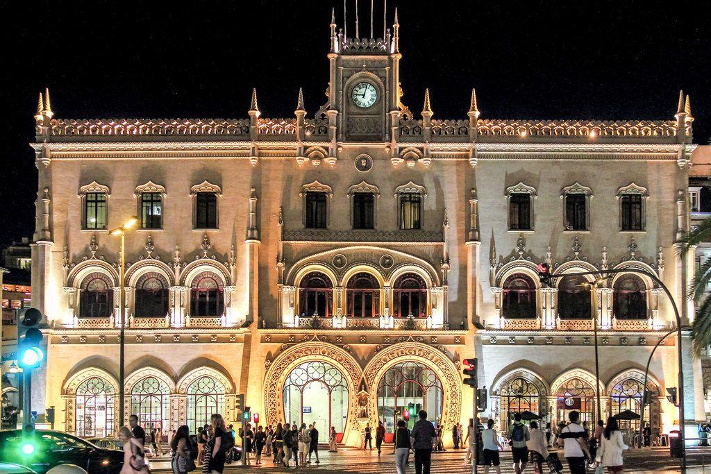 Вокзал Россиу в Лиссабоне
