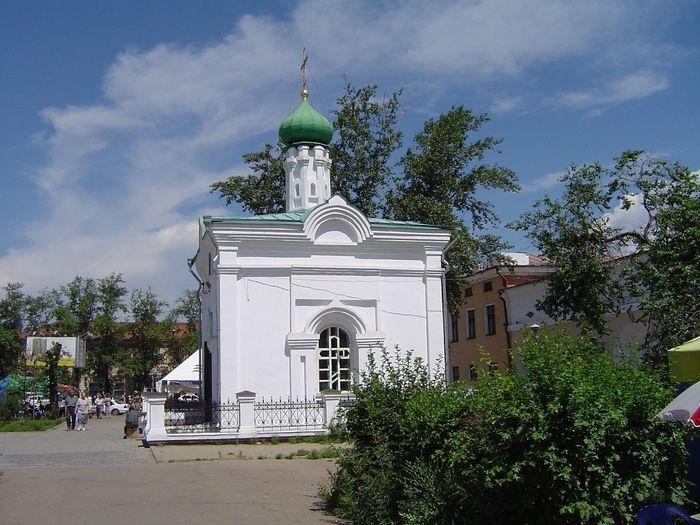 Верхнеудинская часовня во имя святителя Иннокентия Иркутского в Улан-Удэ