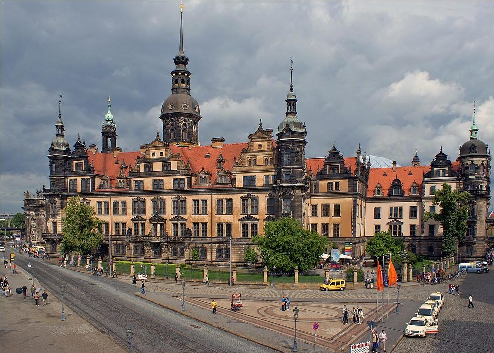Дворец-резиденция, Дрезден, Германия