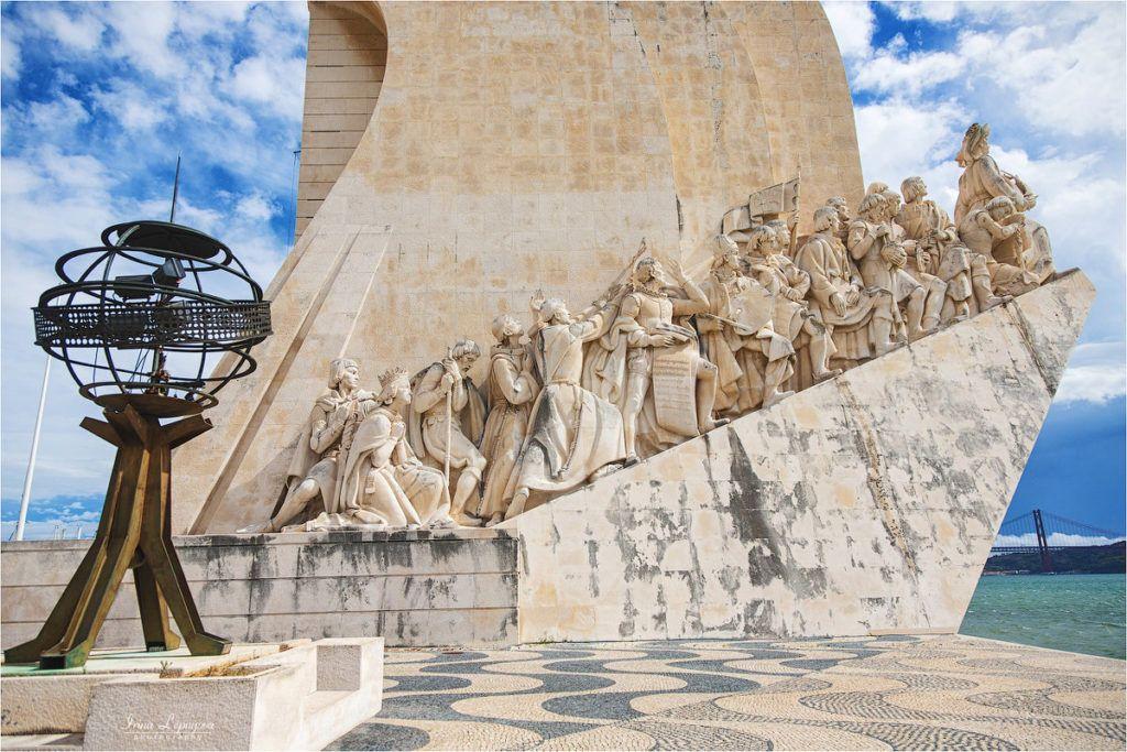 Памятник первооткрывателям в Лиссабоне