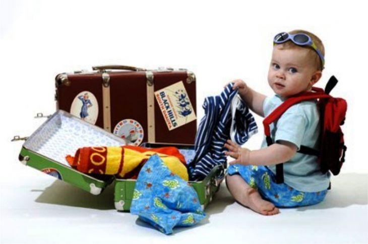 Собираем вещи для ребенка в путешествие