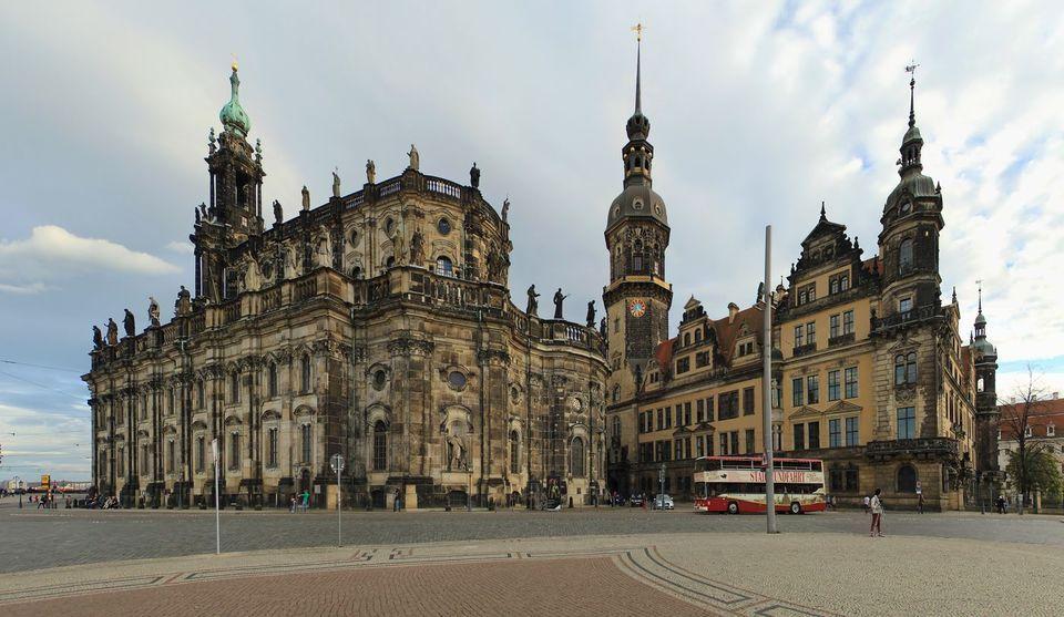 Кафедральный собор в Дрездене, Германия
