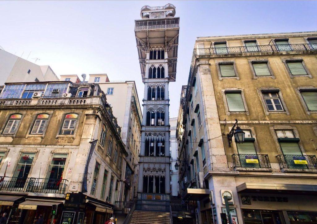 Лифтовый подъемник в Лиссабоне