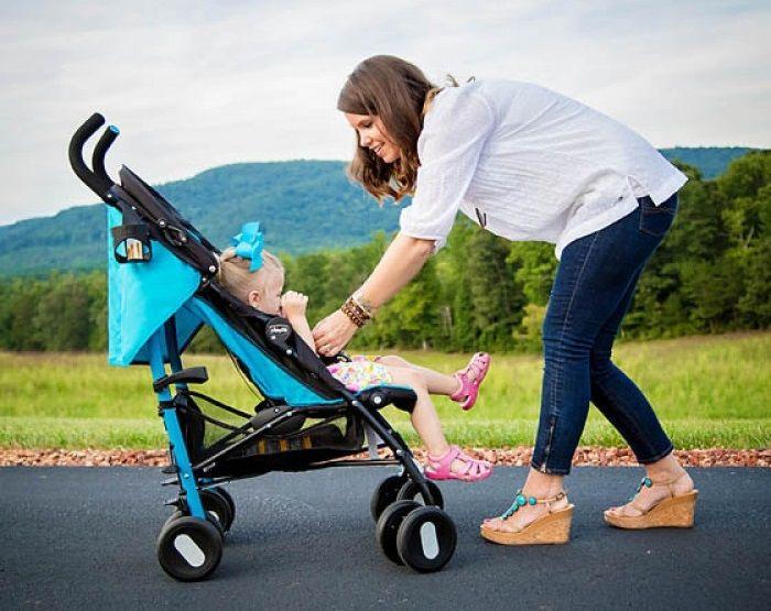 Коляска-трость для отдыха с ребенком