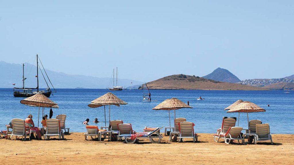 Пляж Битез, Бодрум, Турция