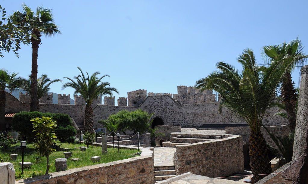 Крепость в Мармарисе, Турция