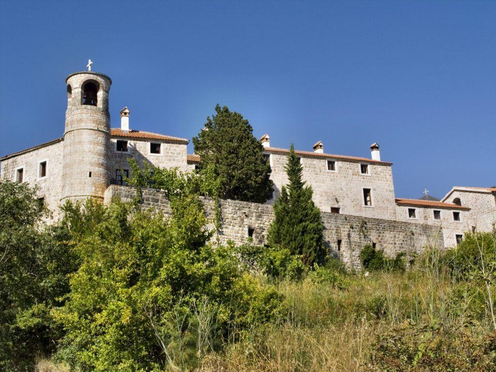 Монастырь Подмаине близ Будвы, Черногория