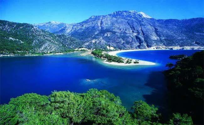 Турецкий Олюдениз: прекрасный отдых и потрясающие фото