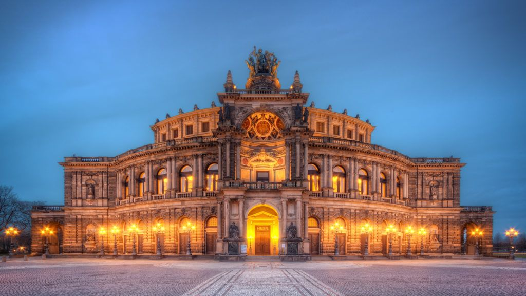 Опера Земпера, Дрезден, Германия