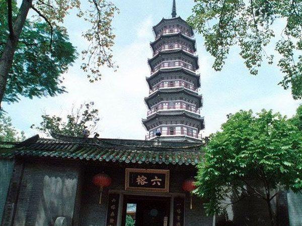 Храм Шести Баньяновых деревьев, Гуанчжоу, Китай