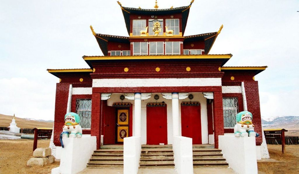 Ацагатский дацан в Улан-Удэ