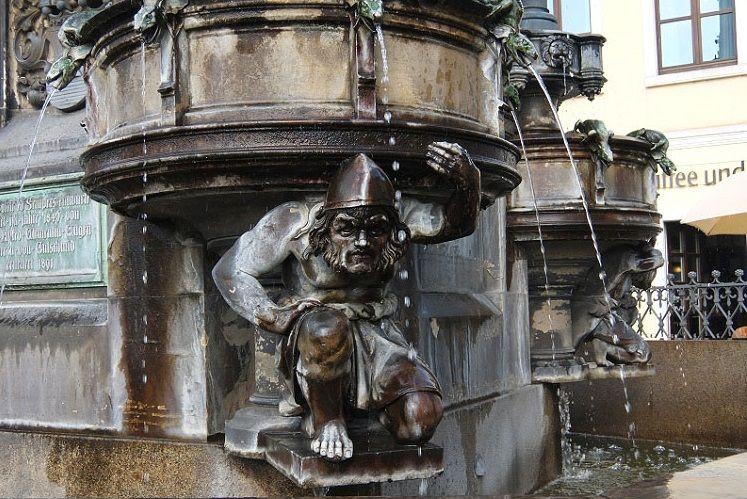 Холерный фонтан, Дрезден, Германия