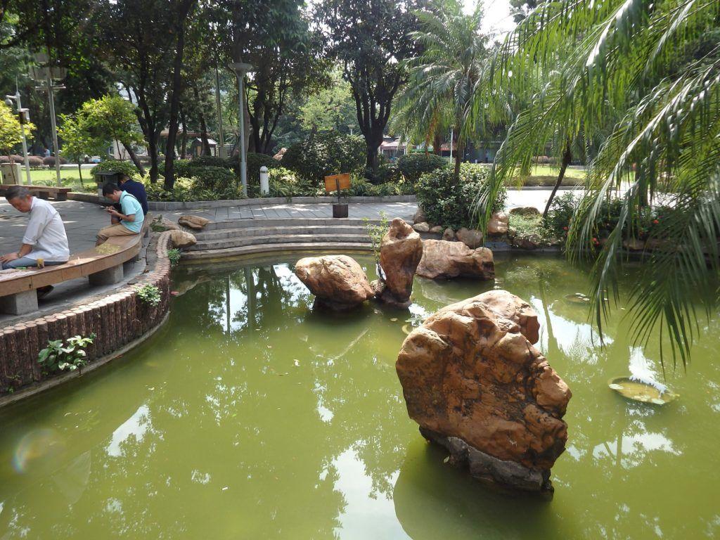 Озерный парк Ливан, Гуанчжоу