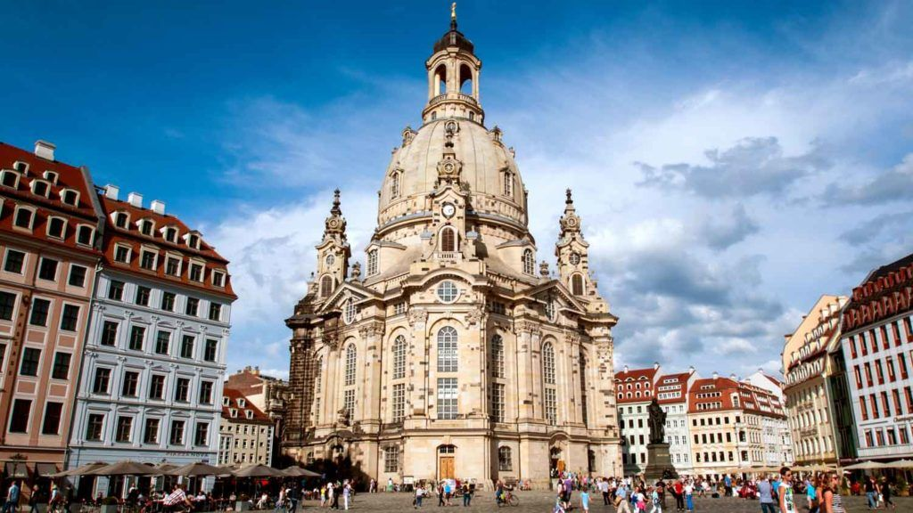 Фрауенкирхе, Дрезден, Германия