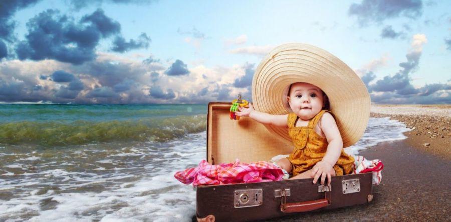 Узнайте, что брать с собой на море с ребенком: список необходимых вещей вас удивит