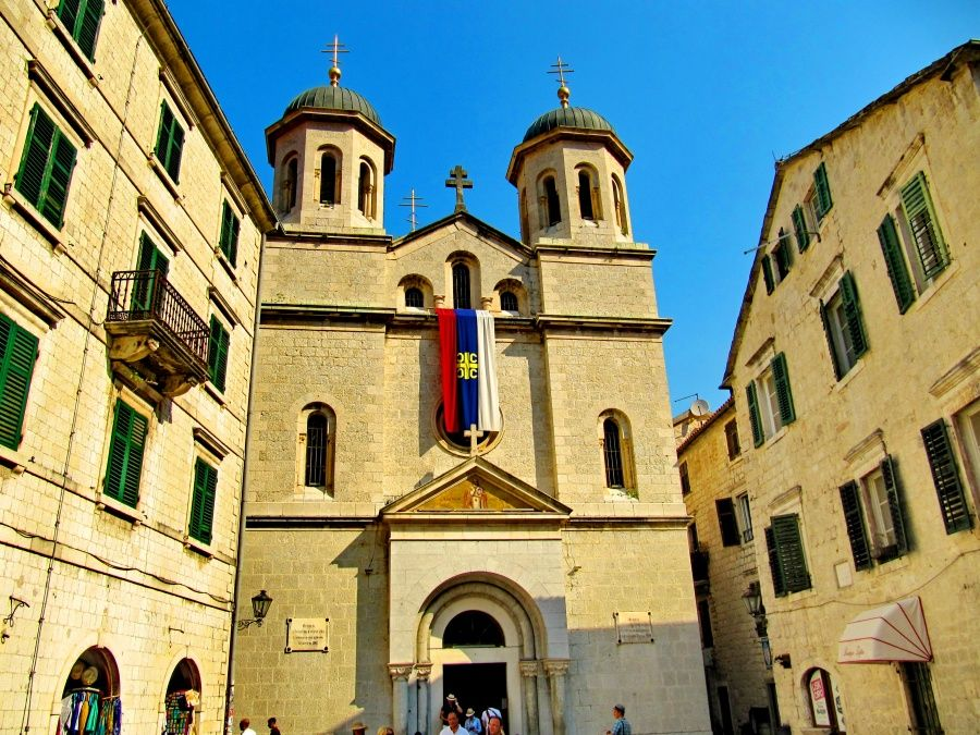 Церковь Свтяого Николая, Котор, Черногория