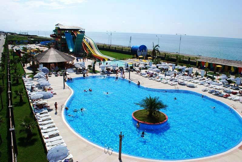 Гостиница с аквапарком в Аджарии