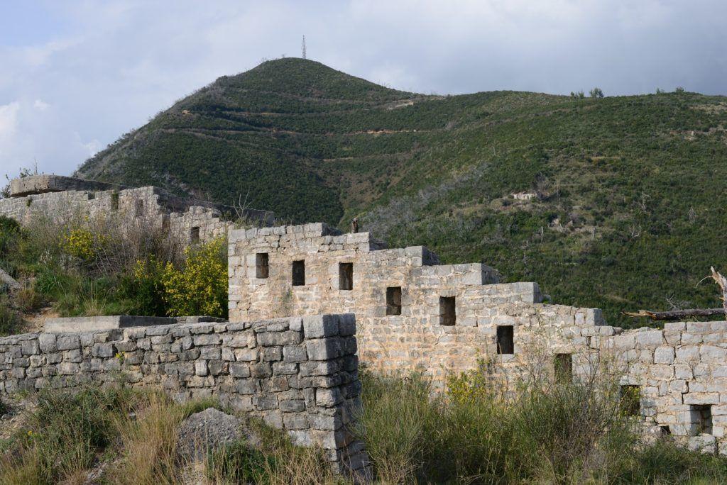 Крепость Могрен близ Будвы, Черногория