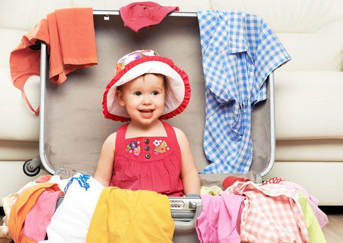 Одежда для ребенка на море