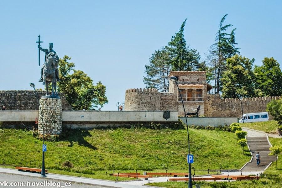 крепость в Телави