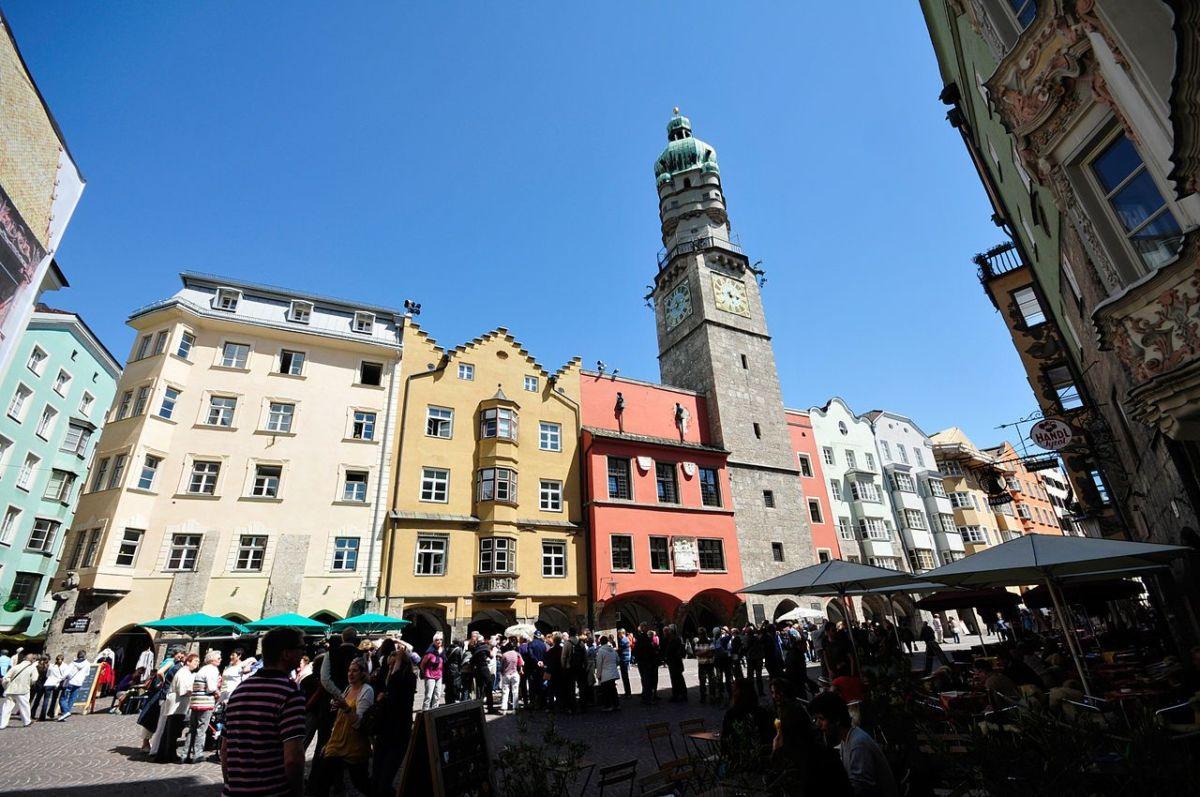 Городская башня, Инсбрук, Австрия