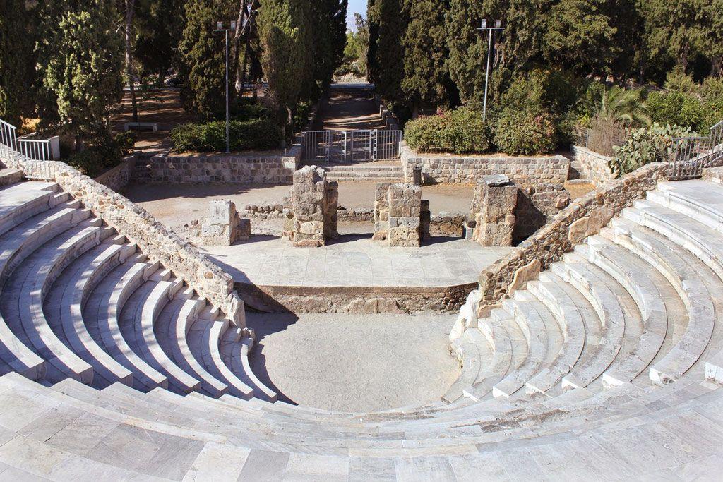 Древнеримский Одеон, остров Кос, Греция