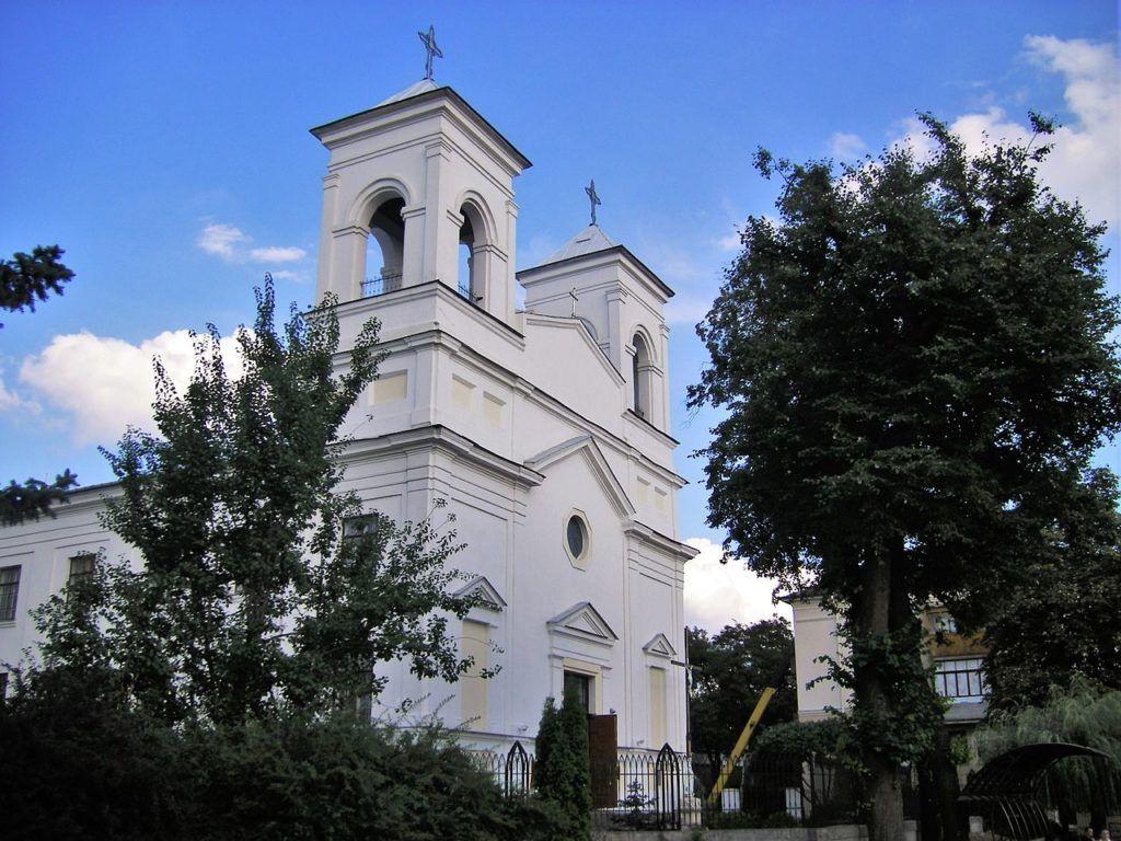 Католическая церковь Воздвижения Святого Креста в Бресте